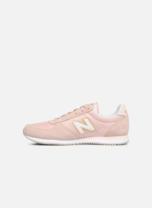 Baskets New Balance U220 W Rose vue face